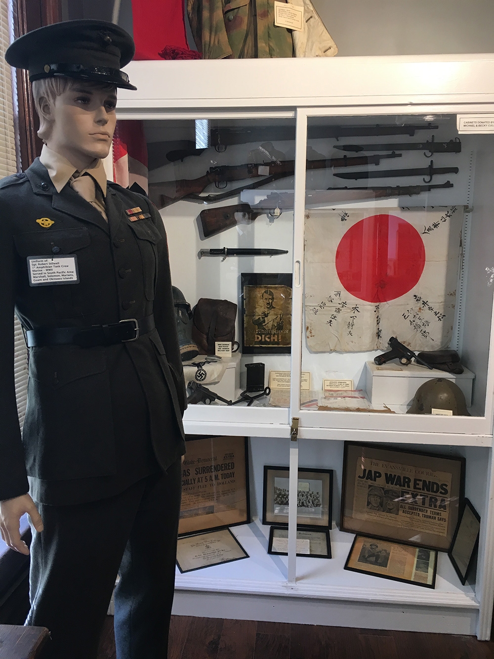 Military Room Exhibit
